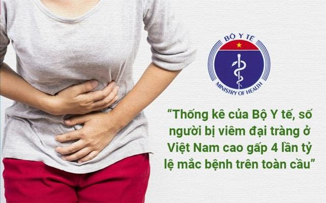 Chữa bệnh viêm đại tràng bằng Đông y an toàn, hiệu quả