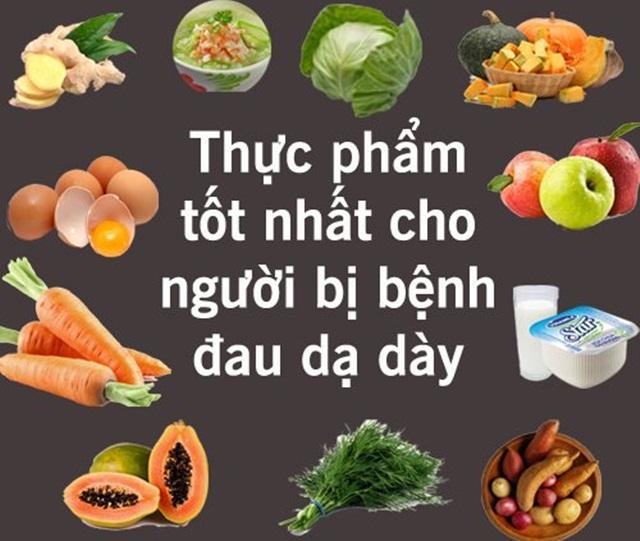 Người bị viêm loét dạ dày cần biết chọn lọc thực phẩm lành mạnh