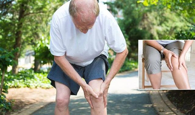 Thoái hóa khớp thường xuất hiện ở người cao tuổi
